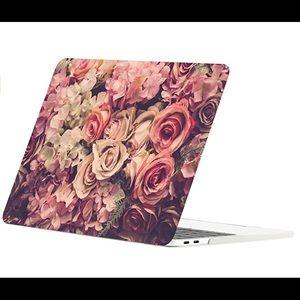 Roses 🌹🌷Mac book Pro laptop case cover
